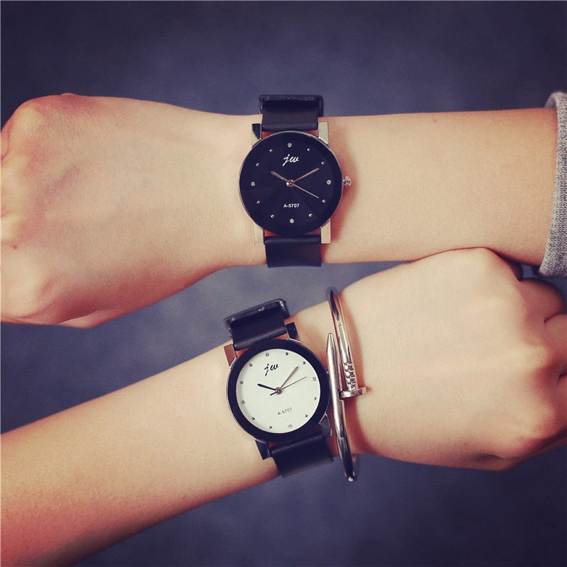 Quartz Classic Simple Couple Watch - YOUTAAS