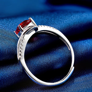 Small Oval Adjustable Ring - YOUTAAS