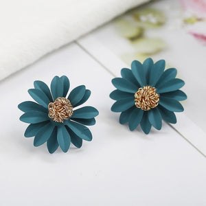 Small Daisy Flowers Earrings - YOUTAAS