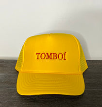 "Load image into Gallery viewer, ""TOMBOÍ"" Trucker Cap (Yellow)"
