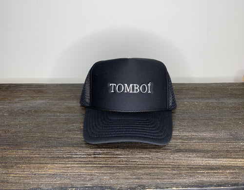 """TOMBOÍ"" Trucker Cap (Black)"