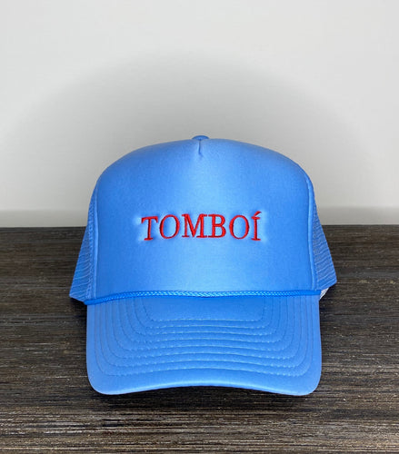 """TOMBOÍ"" Trucker Cap (Light Blue)"