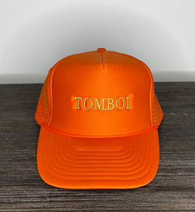 """TOMBOÍ"" Trucker Cap (Dark Orange)"