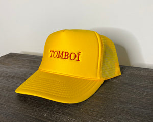"""TOMBOÍ"" Trucker Cap (Yellow)"
