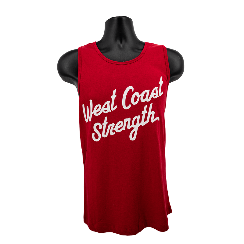 WCS Mens Tank Top - Red