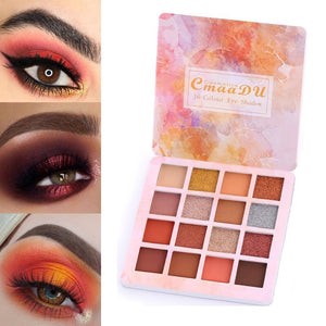 16 Colors Matte Eye Shadow Pallete