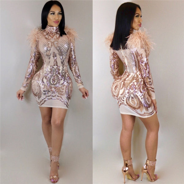 "Bodycon Mini Kleid ""Capri Nights"""