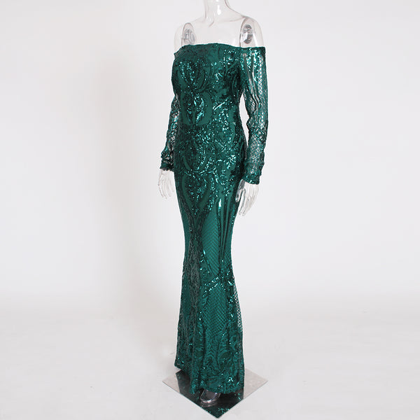 """Be a Mermaid"" Evening Dress"