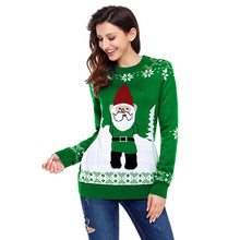 Load image into Gallery viewer, Santa Claus X-Mas Pulli