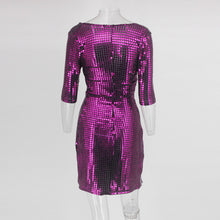 "Load image into Gallery viewer, ""Welcome on the Dancefloor"" Mini Kleid"