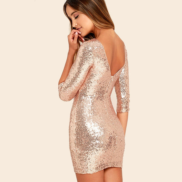 "Pailletten Cocktail Kleid ""Shine"""