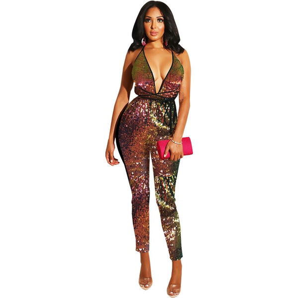 "Pailletten Jumpsuit ""The Glam"""