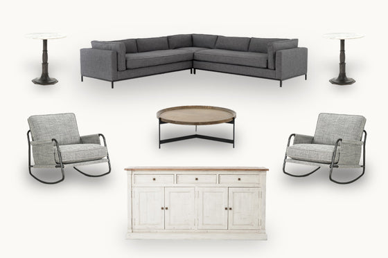 Dawson Living #7 - Sectional