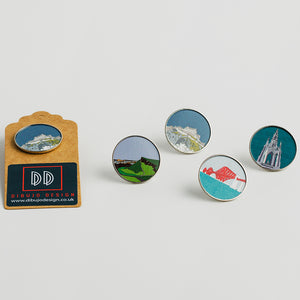 Edinburgh Landmark - Badges