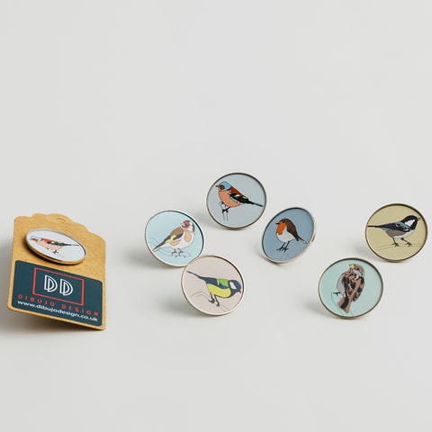 Garden Birds - Badges