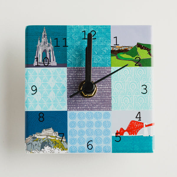 Edinburgh Landmarks - Mini Clocks