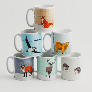 Scottish Animal - Mugs