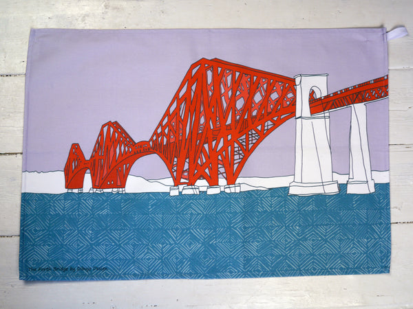 Forth Bridge Tea Towel