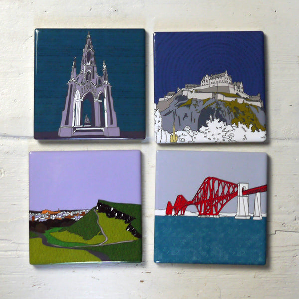 Edinburgh Ceramic Coasters