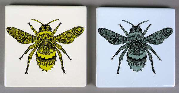 Bee Ceramic Coasters