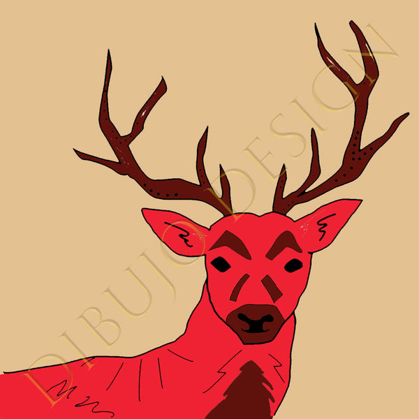 Stag Ceramic Coasters