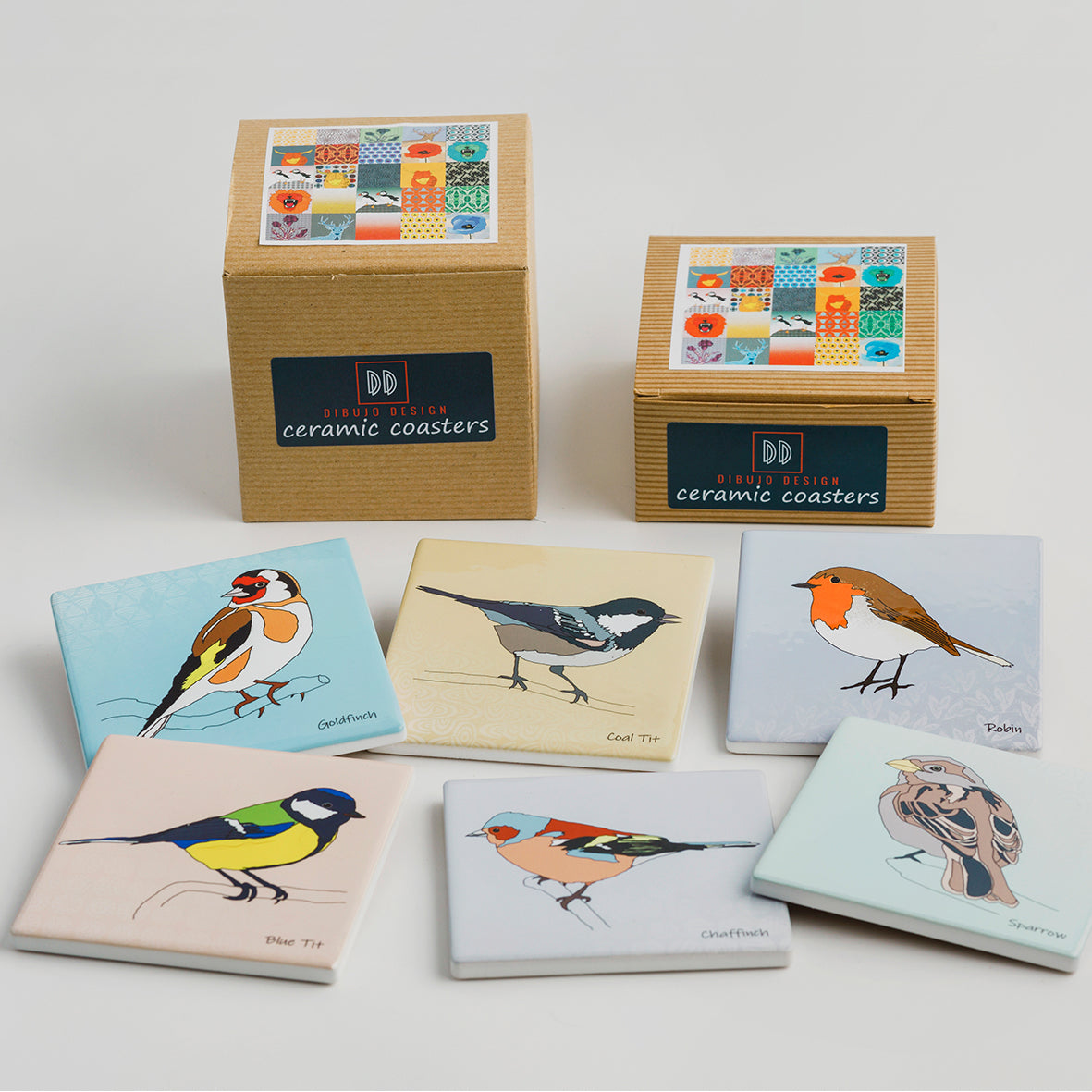 Garden Birds Coasters ***NEW***