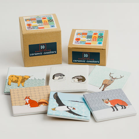 Scottish Animal Coasters ***NEW***