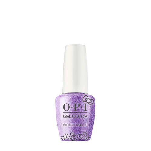 opi gel color pile on the sprinkles hello kitty beauty art mexico