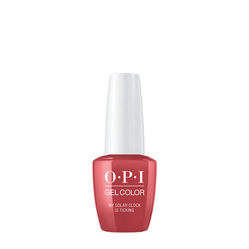 opi gel color my solar clock is thicking peru beauty art mexico