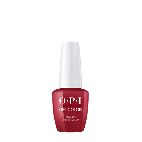 opi gel color i love you just be cusco peru beauty art mexico