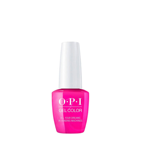 opi gel color all your dreams in vending machines beauty art mexico
