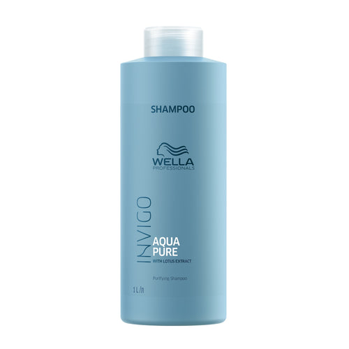 wella aqua pure shampoo beauty art mexico