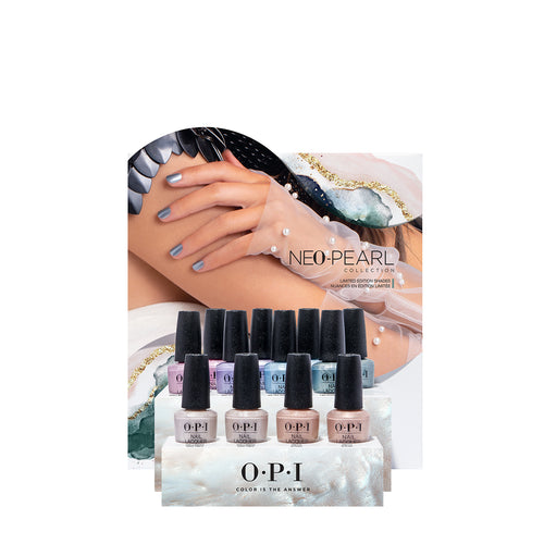 opi nail lacquer display neo pearl beauty art mexico