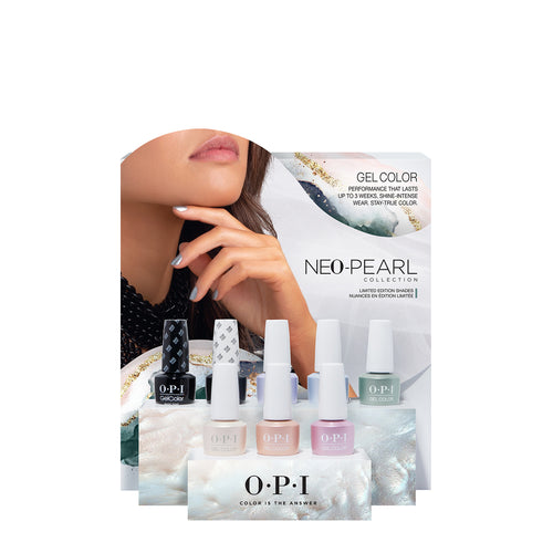 opi gel color display neo pearl beauty art mexico