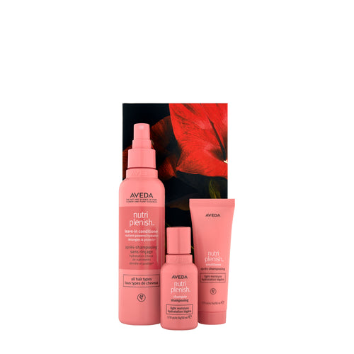 aveda nutriplenish light trio beauty art mexico