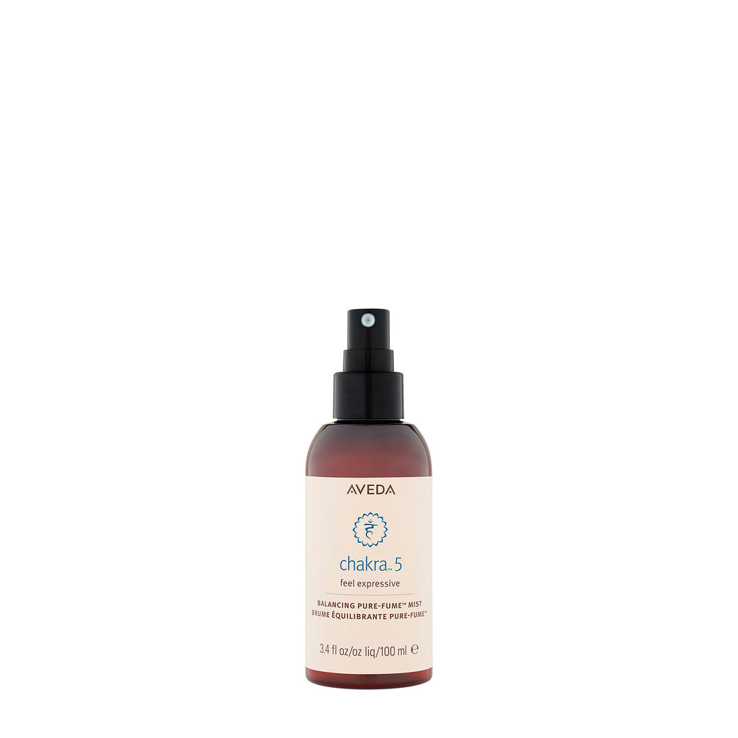aveda chakra 5 balancing pure fume beauty art mexico