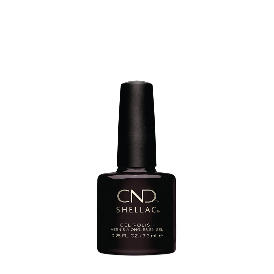 cnd shellac black pool beauty art mexico