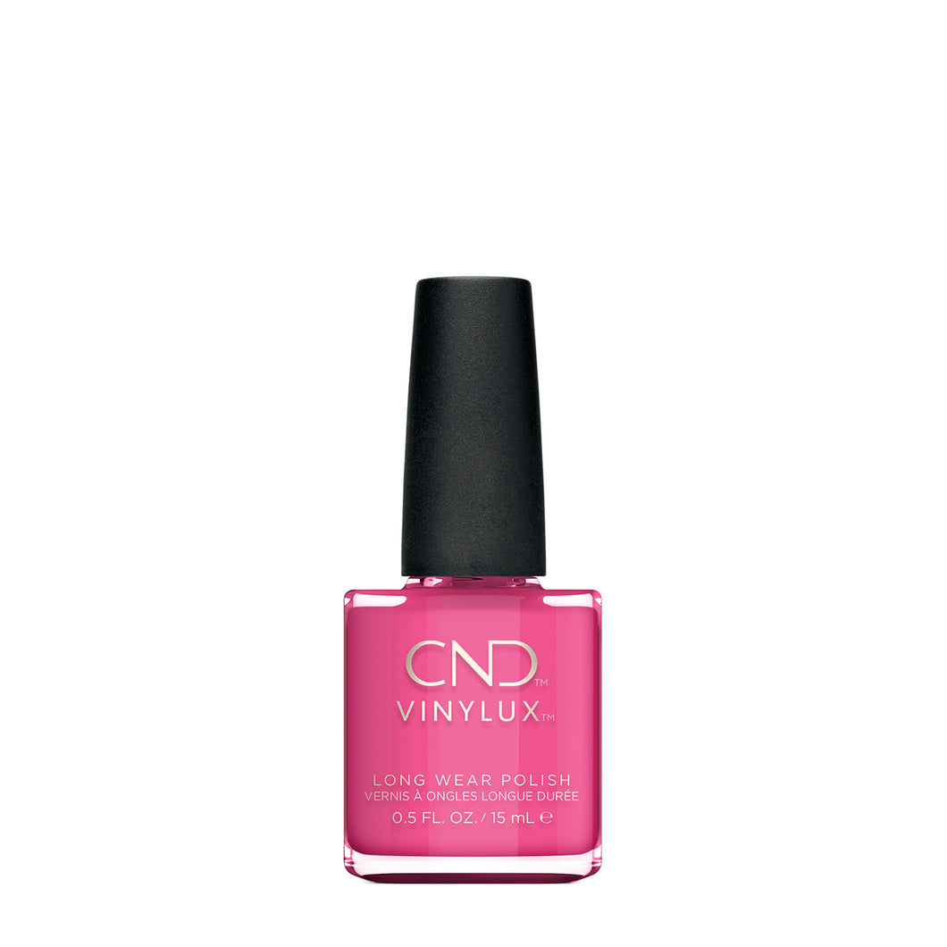 cnd vinylux hot pop pink beauty art mexico