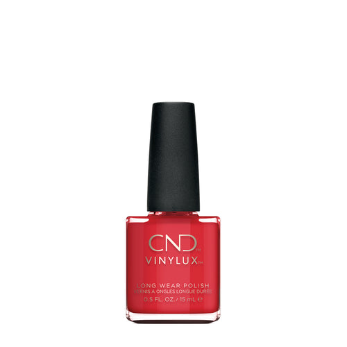 cnd vinylux rouge red beauty art mexico