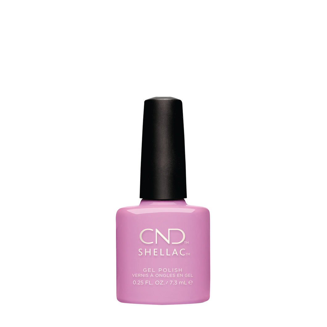 cnd shellac beckoning begonia beauty art mexico
