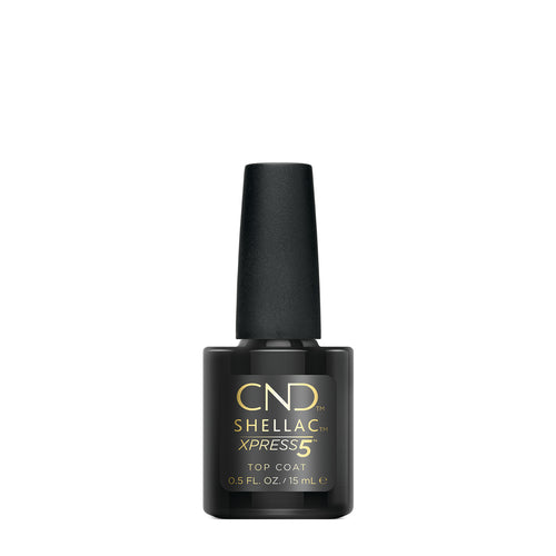 cnd shellac express5 top coat beauty art mexico