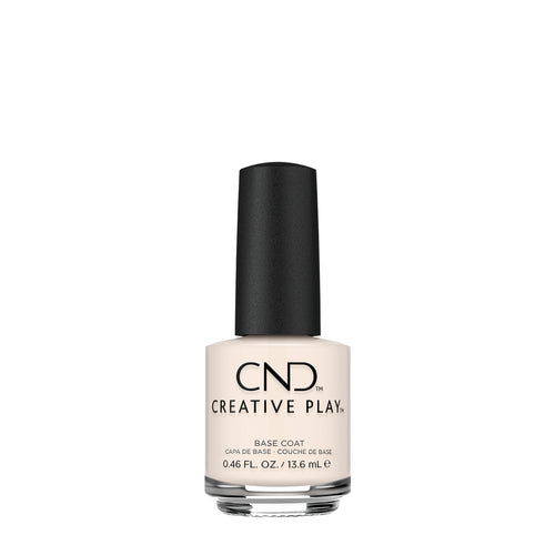 cnd creative play base coat beauty art mexico