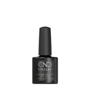 cnd shellac glitter top coat beauty art mexico