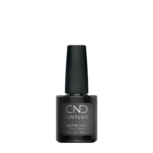 cnd vinylux matte top coat beauty art mexico