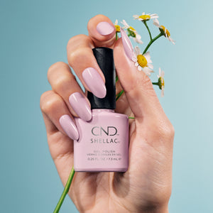 cnd shellac carnation bliss beauty art mexico