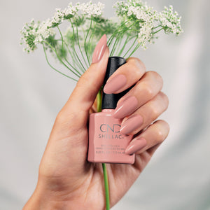cnd shellac flowerbed folly beauty art mexico