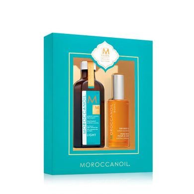 SET MOROCCANOIL 10 ANIVERSARIO LIGHT