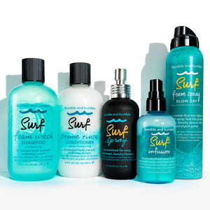 bumble and bumble surf foam spray blow dry beauty art mexico