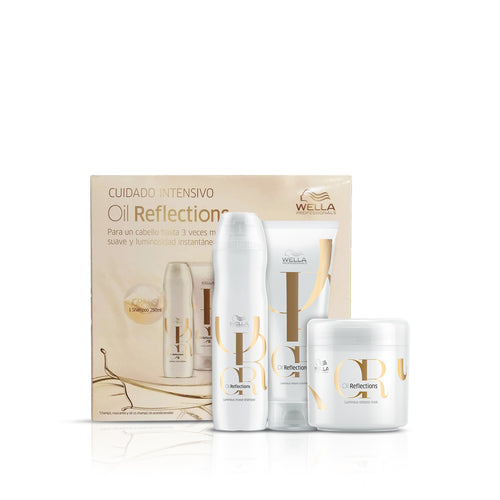 wella oil reflection bundle pack amj beauty art mexico