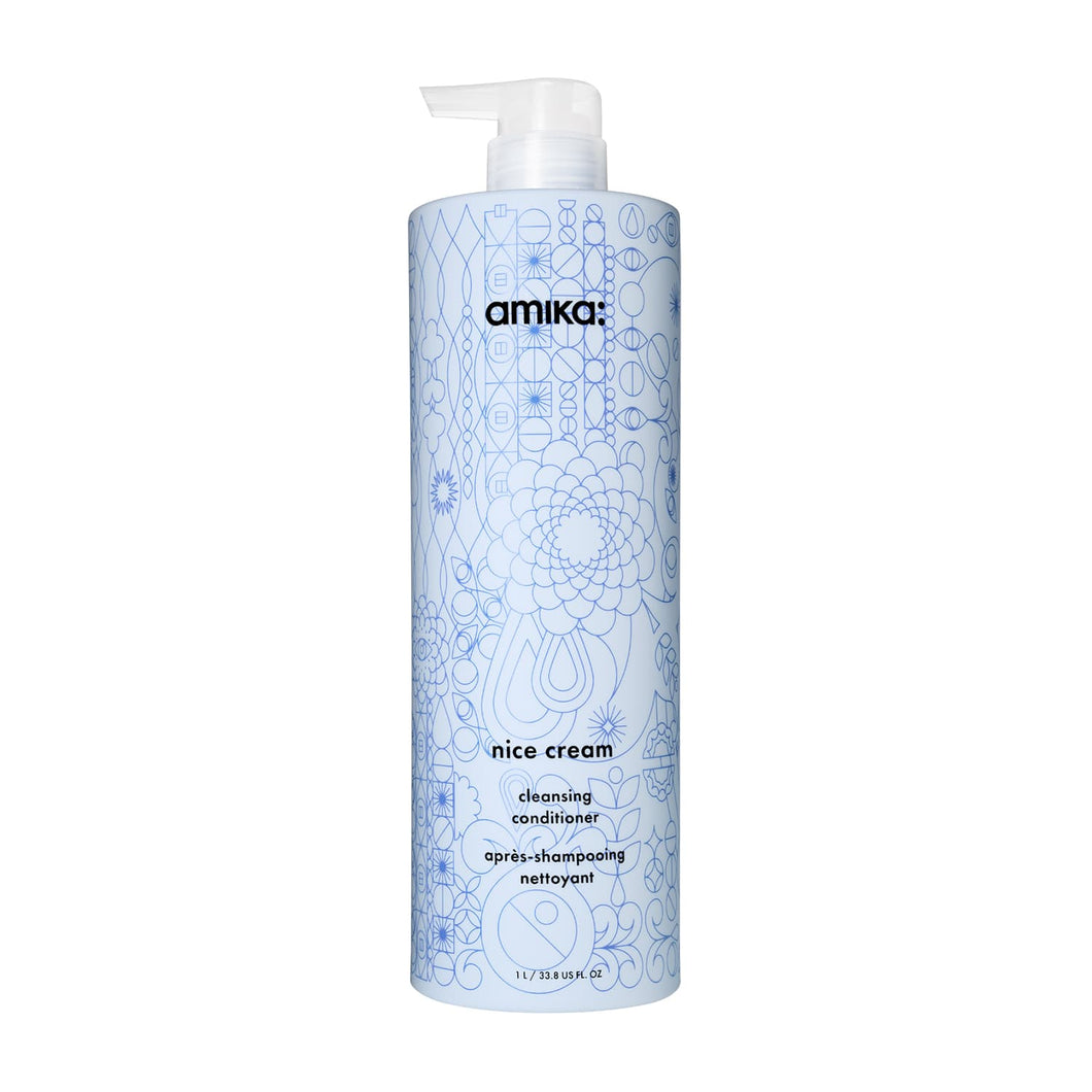 amika nice cream cleasing conditioner beauty art mexico
